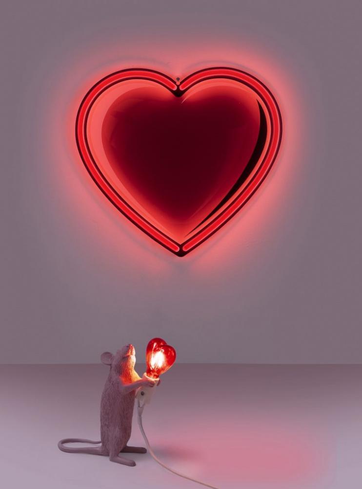 Mouse lamp love edition | Seletti Ildfluen